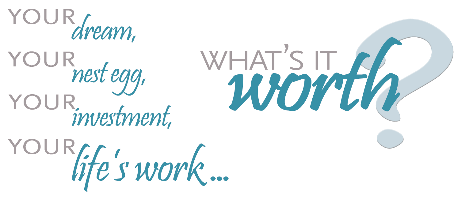 What's your life's work worth?